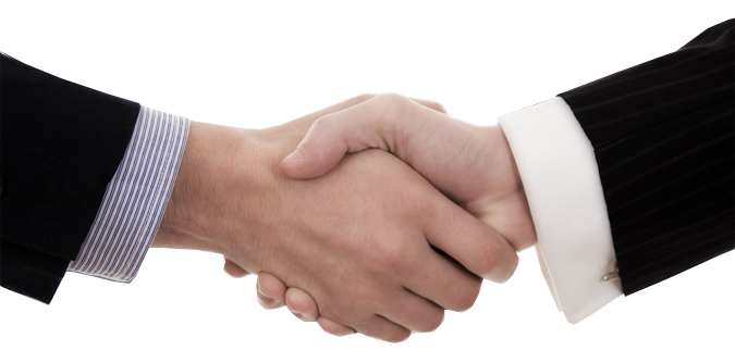 パートナー 握手